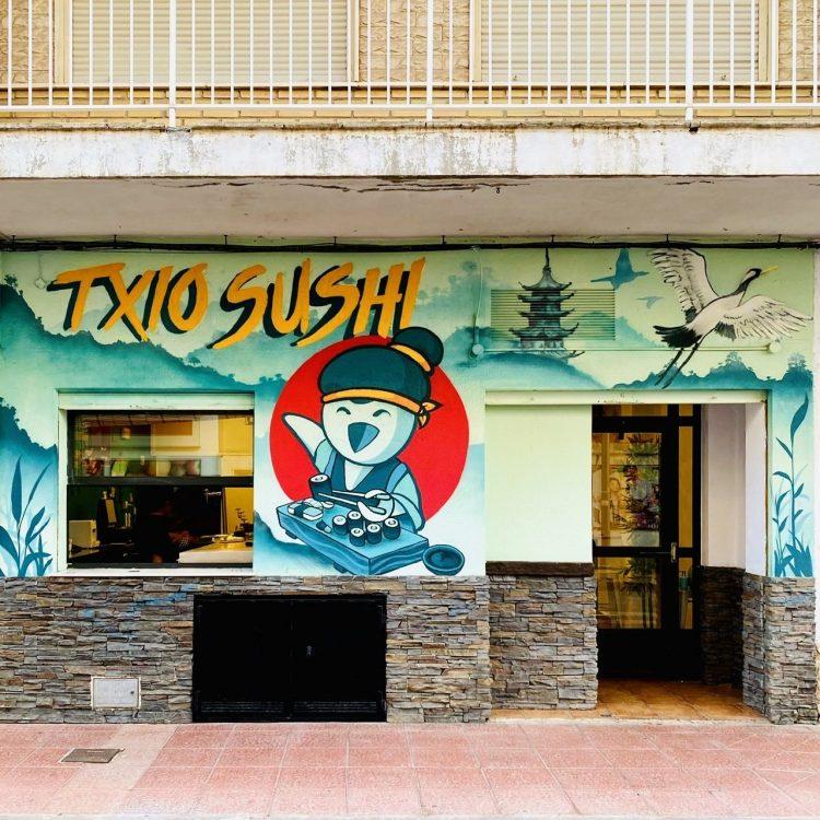 Txio Sushi en Santiago de la Ribera, buen sushi en la playa
