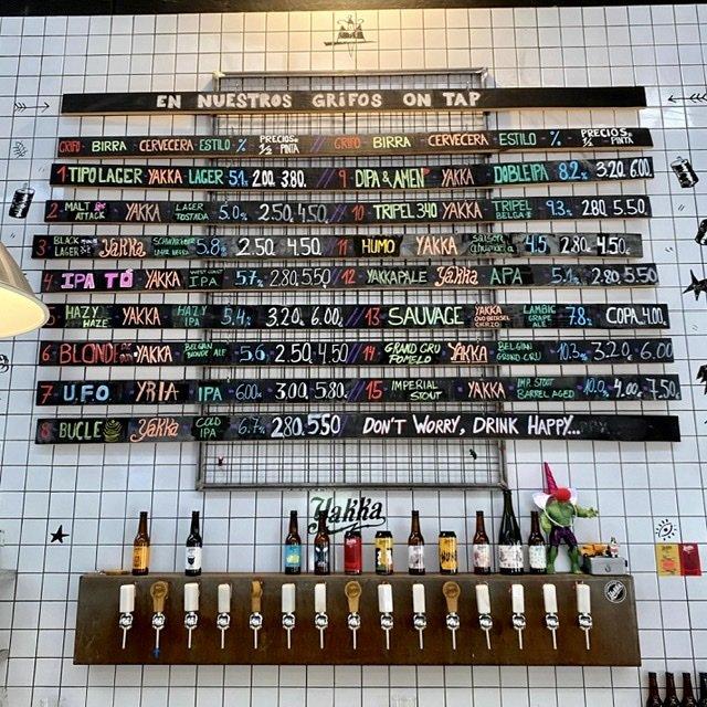Cervezas Yakka Tap Room