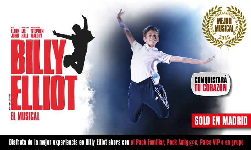 Billy Elliot El Musical en Madrid