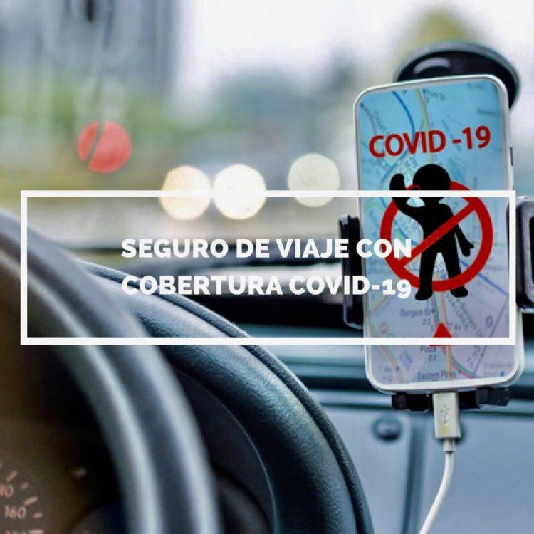 Seguro viaje con cobertura COVID-19 por España y corta distancia