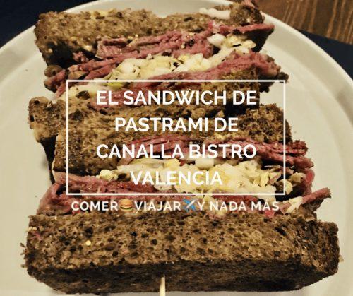 Canalla Bistro Valencia