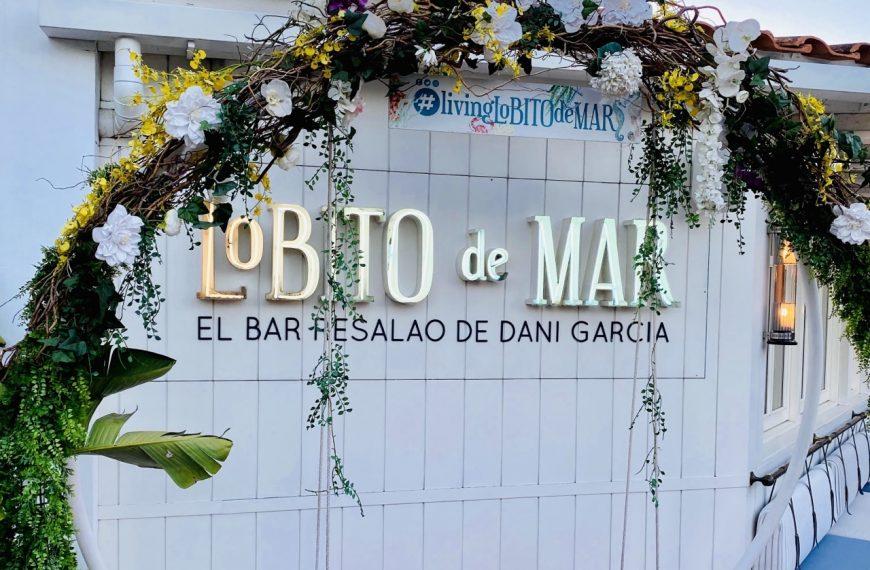 Lobito de Mar Marbella, el Bar Resalao de Dani García