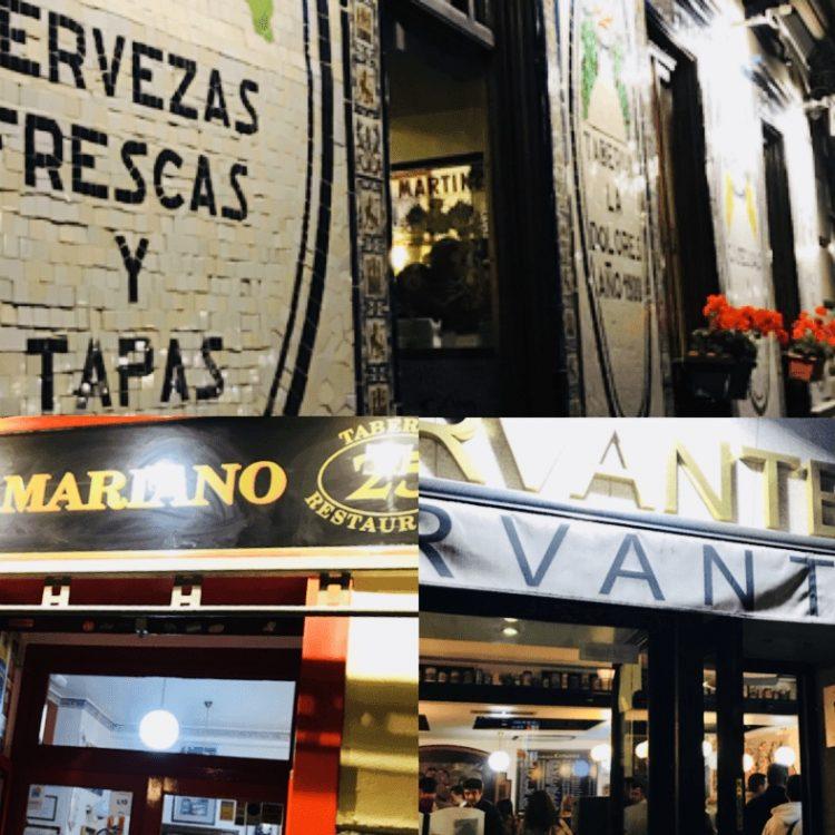 tapas por Madrid