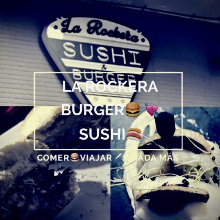La Hamburguesa Rockera: Burgers love sushi
