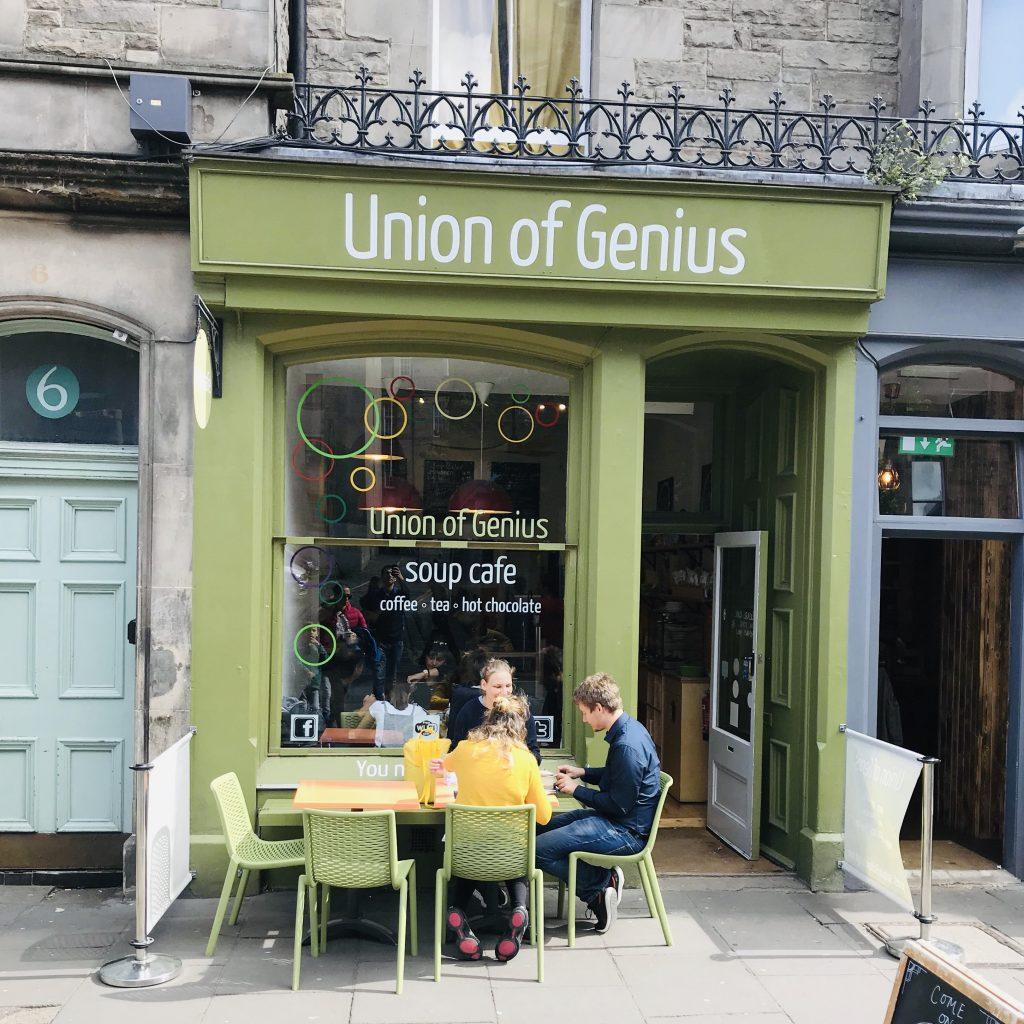 Donde comer en Edimburgo