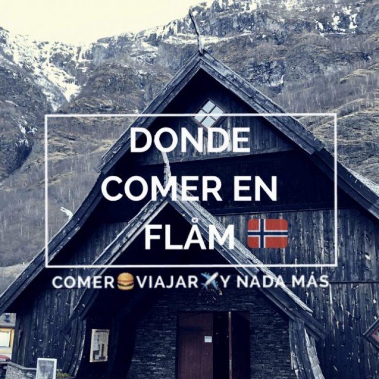 ¿Dónde comer en Flåm (Noruega)? ¿En una iglesia vikinga?