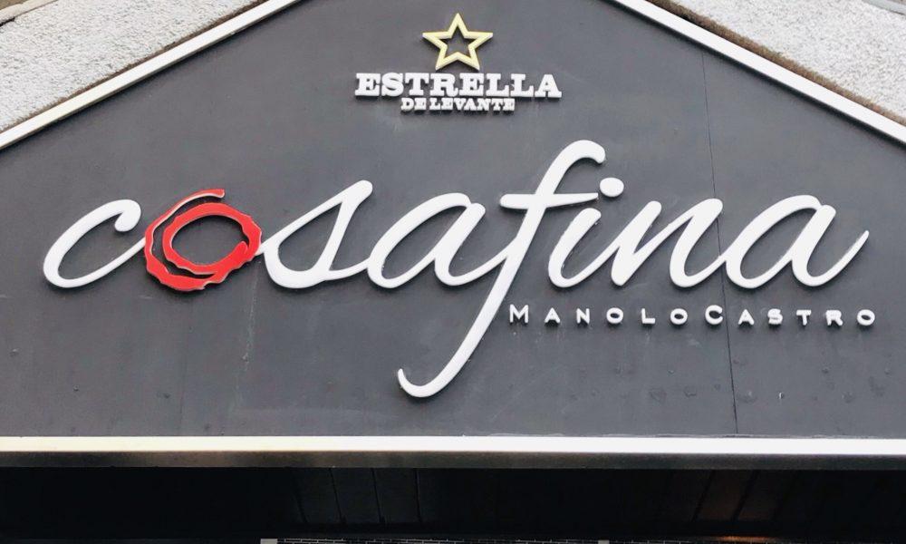 Restaurante Cosa Fina de Manolo Castro