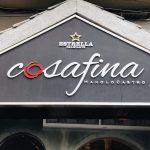 Restaurante Cosa Fina de Manolo Castro (Noviembre 2019)