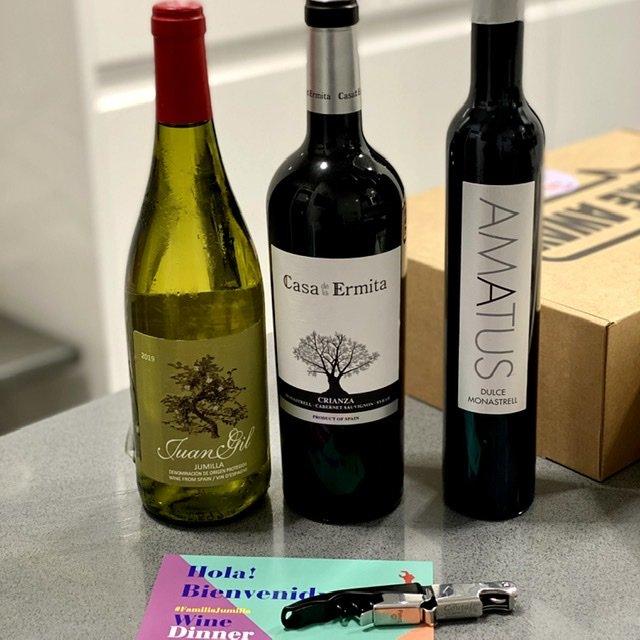 Wine Dinner Familia Jumilla