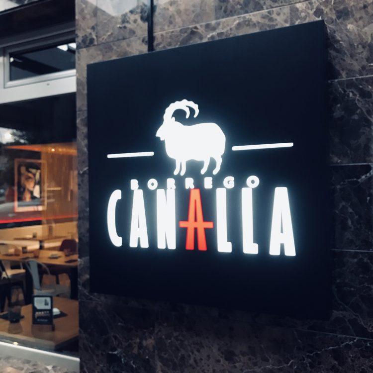 Restaurante Borrego Canalla en Bullas, su versión más informal