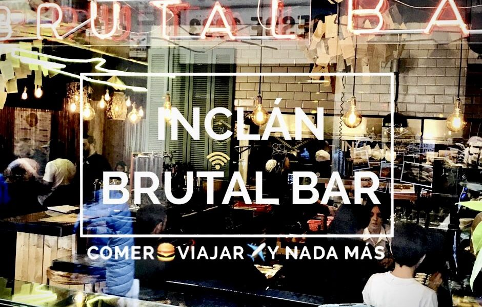 Inclán Brutal Bar Madrid