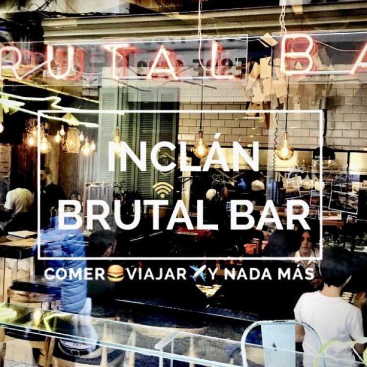Inclán Brutal Bar Madrid: Original y divertido a buen precio