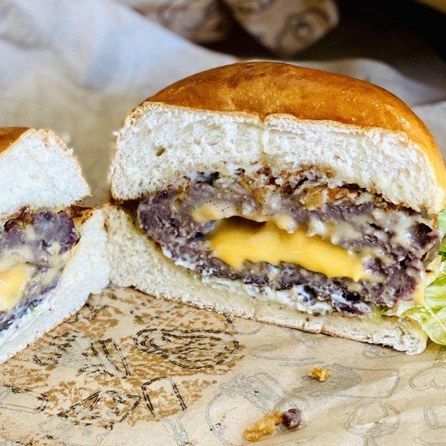 hamburguesas de Black Label Murcia