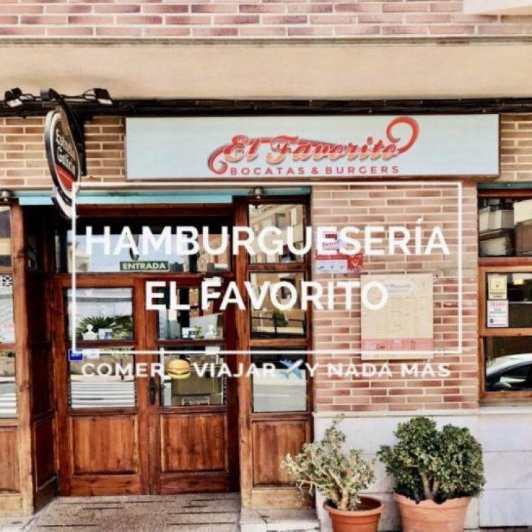 Las super hamburguesas de El Favorito Murcia