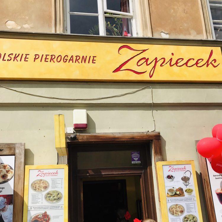 dónde comer en Varsovia