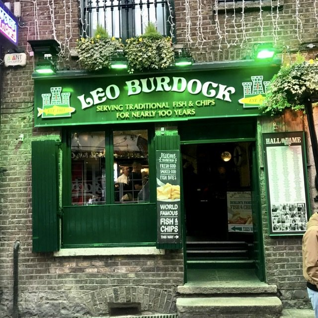 Dónde comer en Dublín barato
