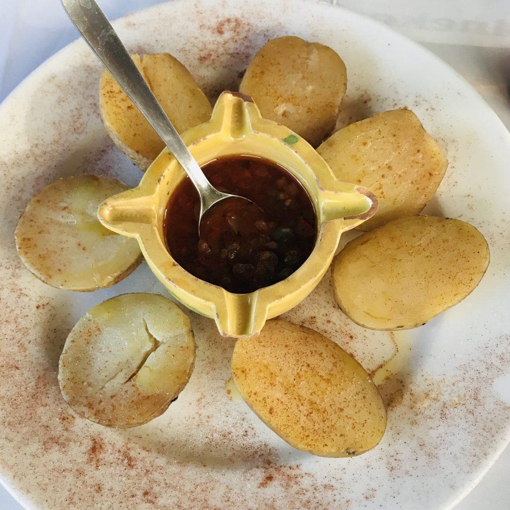 Patatas Aceite