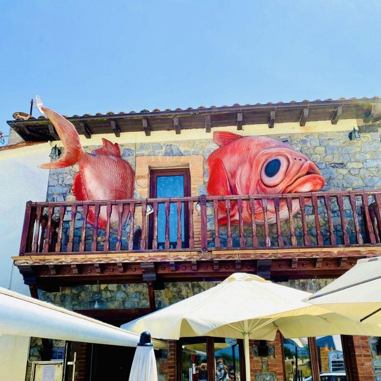 Restaurante Güeyu Mar, el templo de las brasas del mar
