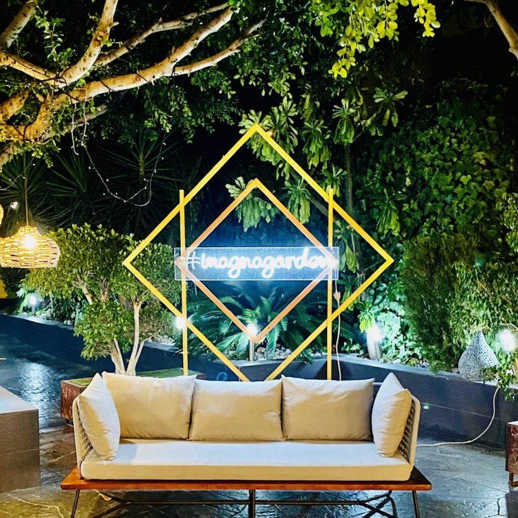 Magna Garden en Murcia, cena en un jardín con mucho encanto