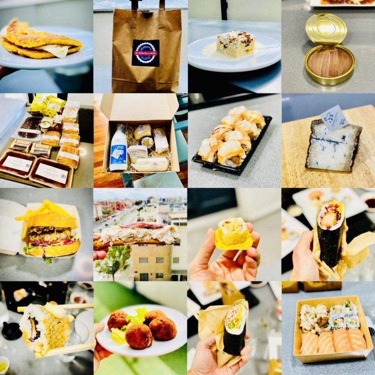 Comida a domicilio en Murcia, restaurantes y productos en casa