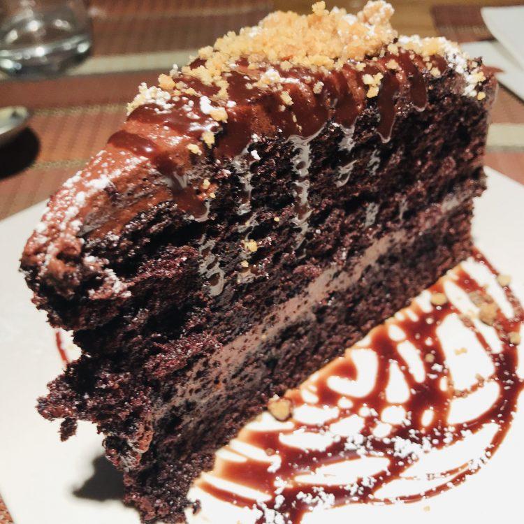 tarta chocolate La Bistroteca