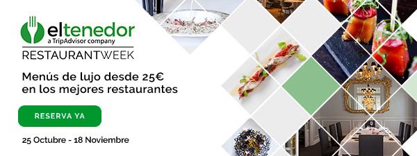 La Restaurant Week El Tenedor