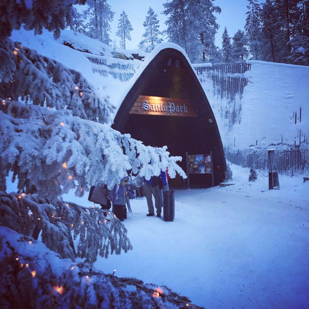 Papá Noel en Laponia