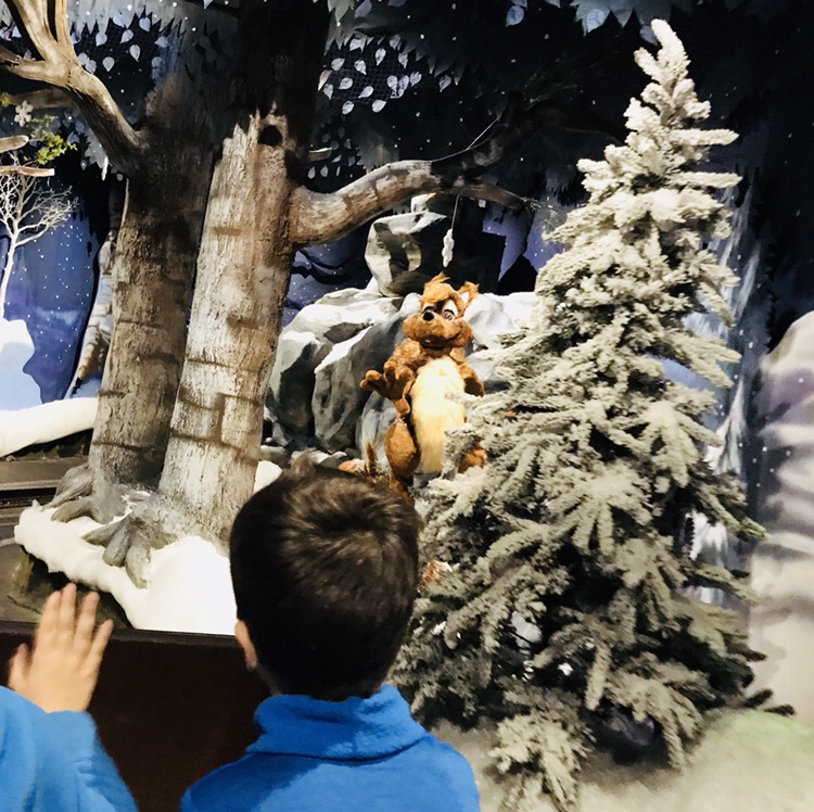 Tren navidad Papá Noel en Laponia