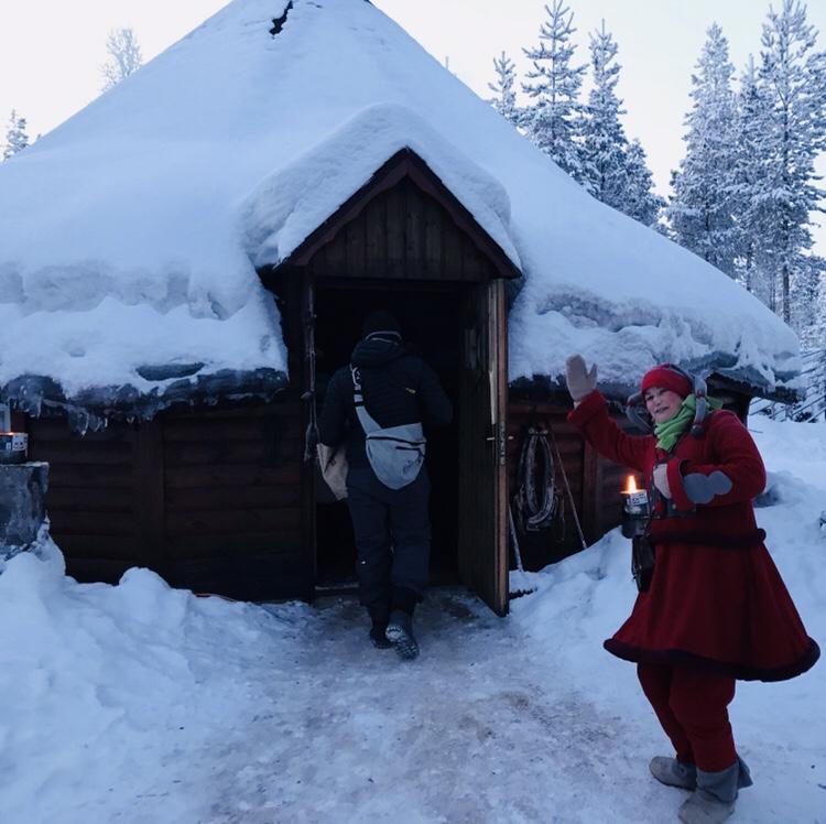 Papá Noel en Laponia Joulukka