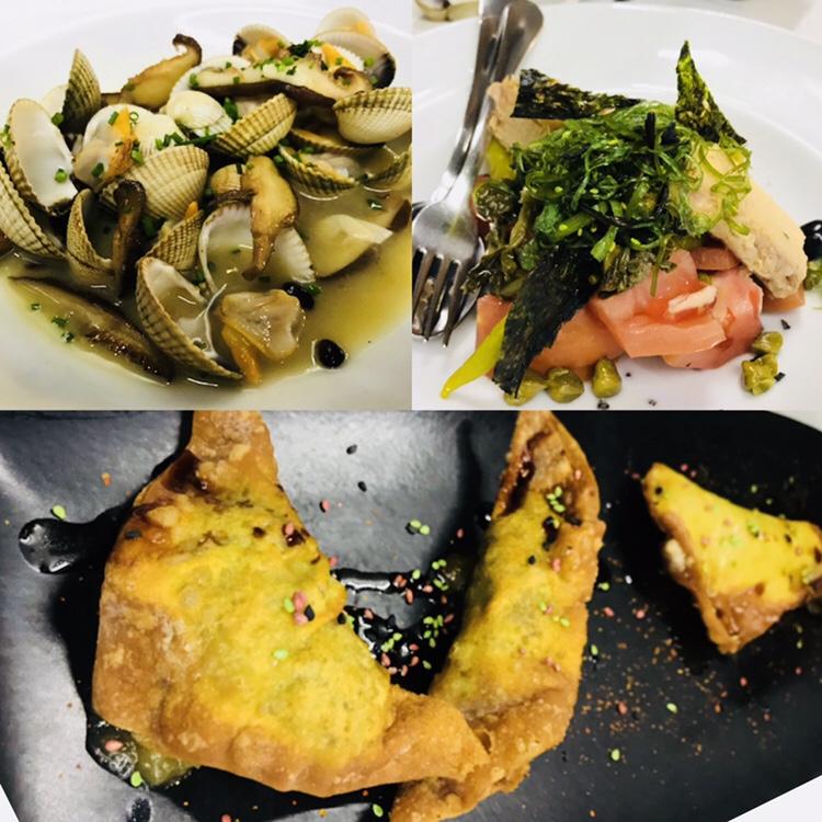 Entrantes restaurante Nexo Murcia
