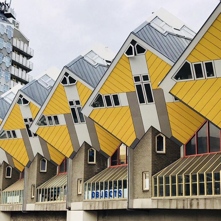 Casas cubo que visitar en Holanda