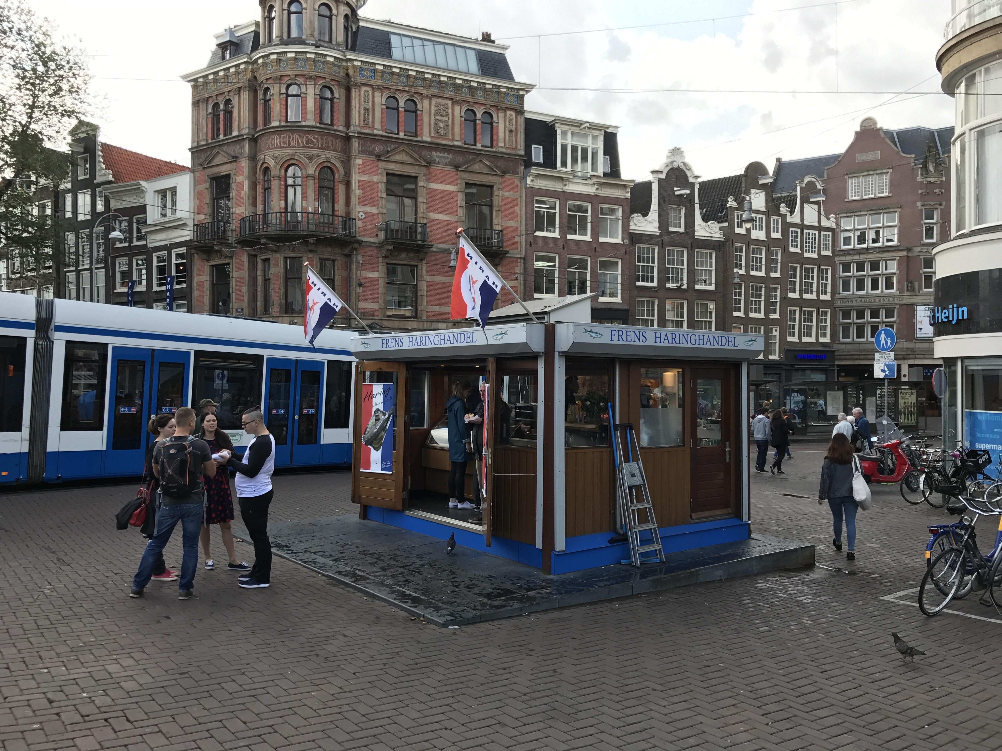 Frens Haringhandel Arenque Amsterdam Holanda