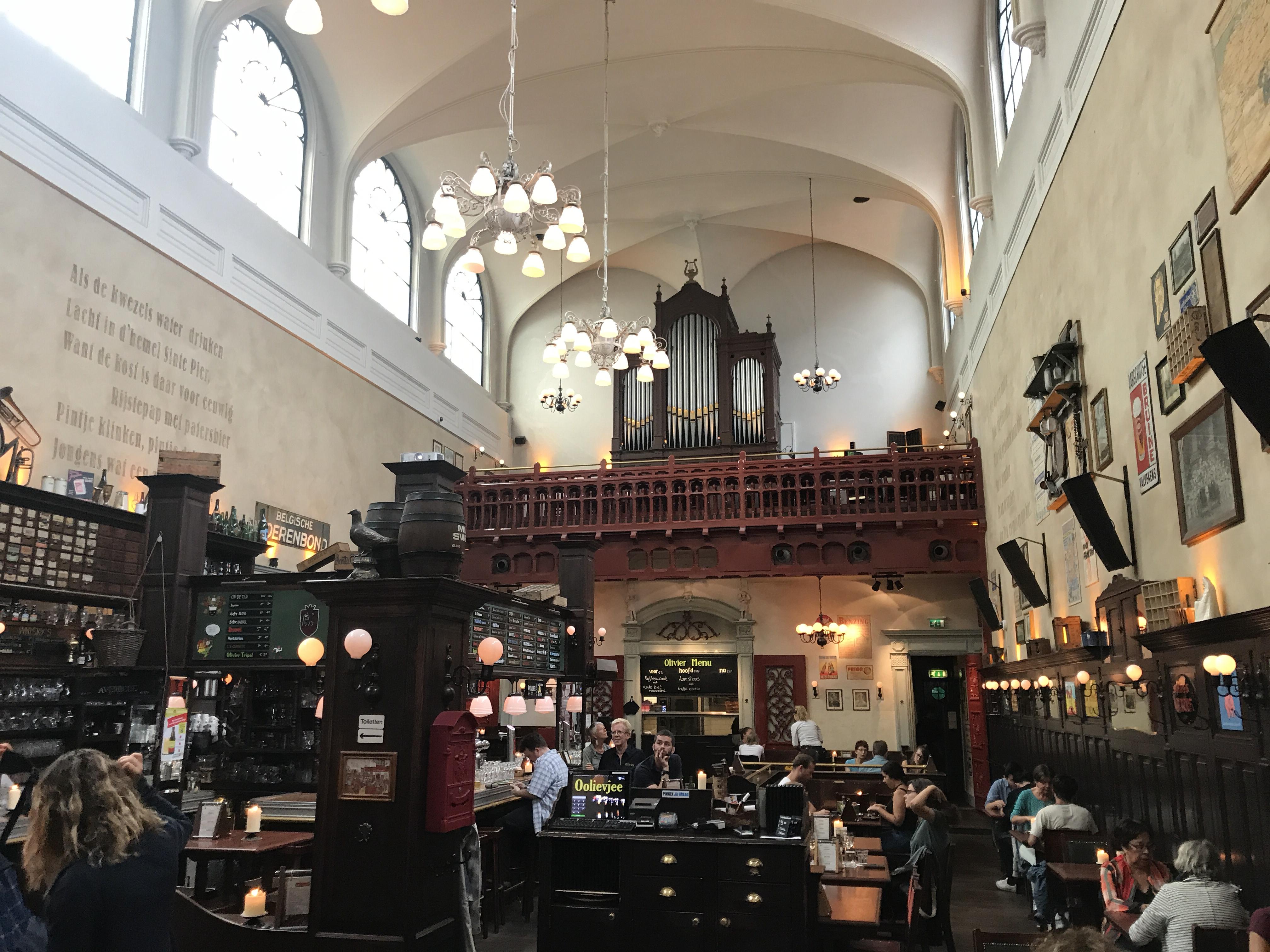 Café Olivier comer en Utrecht