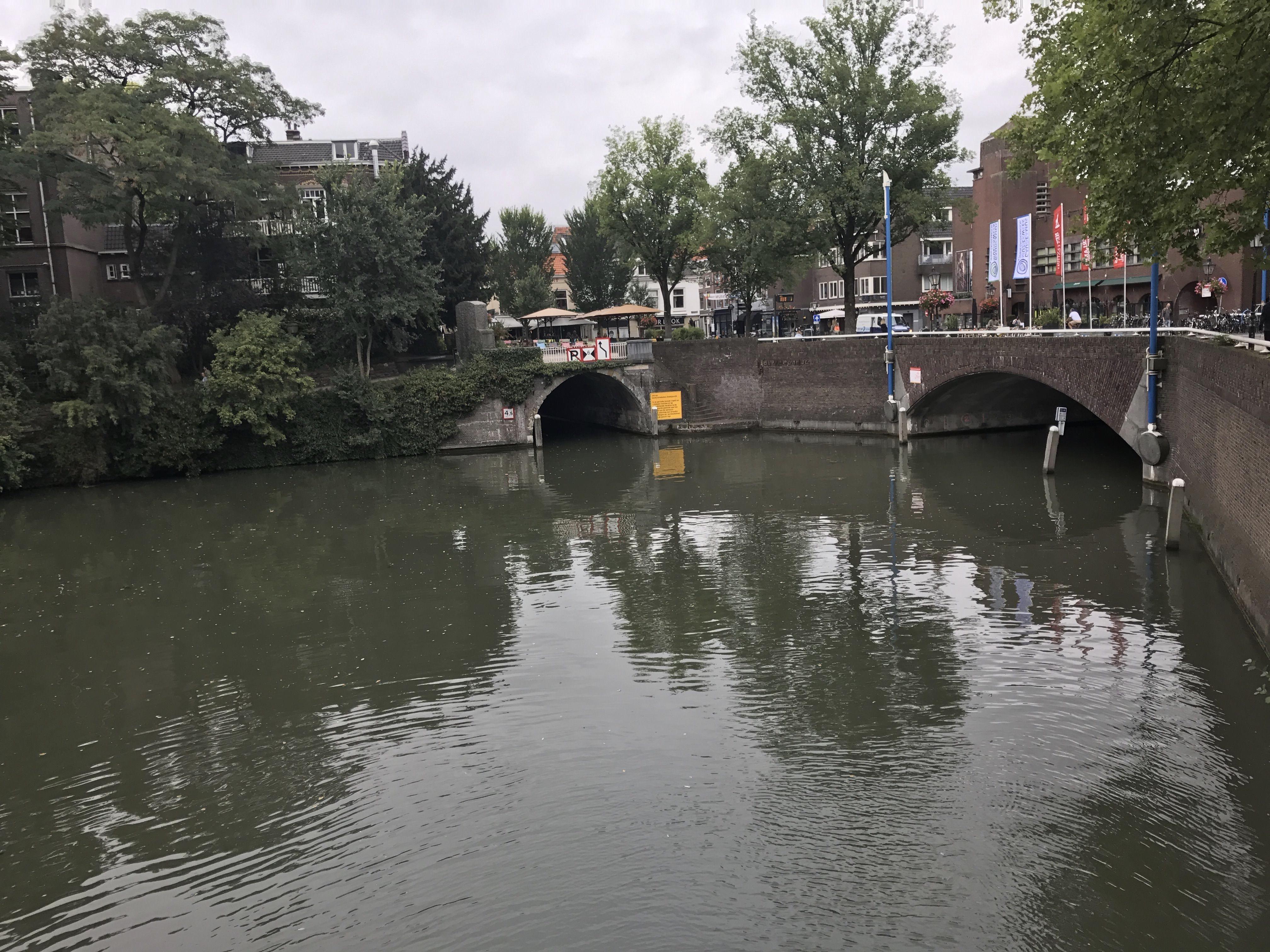 Utrecht Canal Oudegracht Holanda
