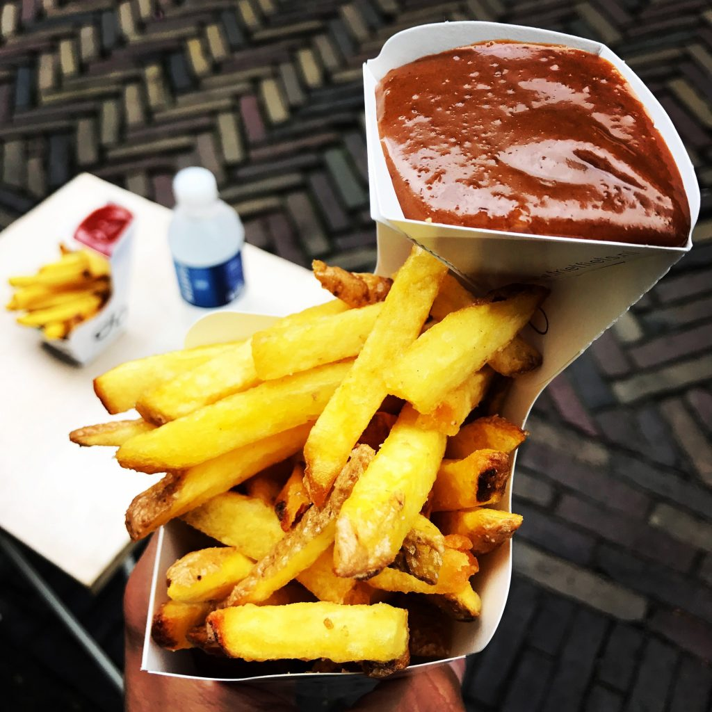 Patatas fritas Dapp Frietwinkel Utrecht Holanda