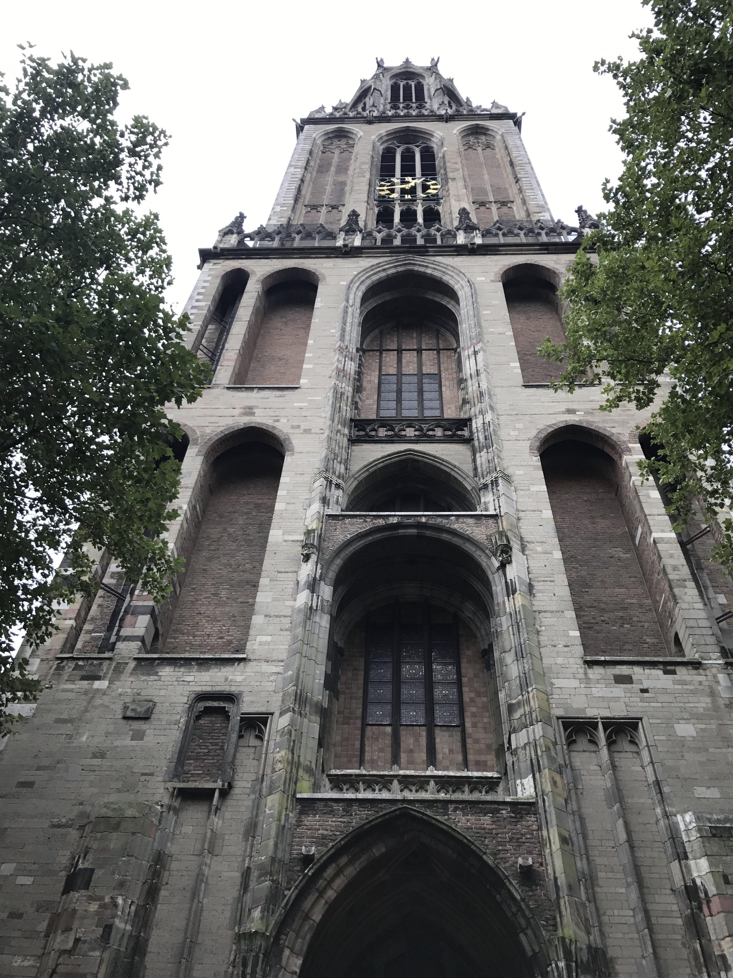 Torre Dom Utrecht hacer en Holanda