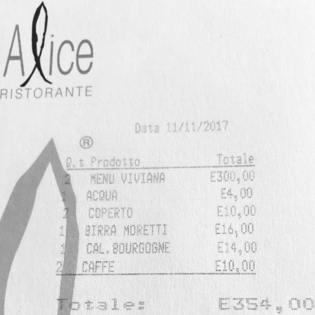 Alice Milan la cuenta