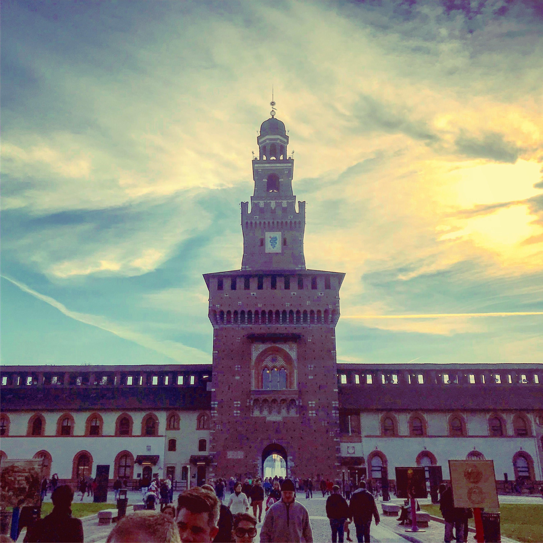 Milan Castello Sforzesco fin de semana en Milán