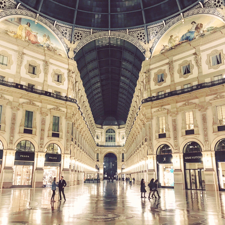 Galería Víctor Manuel II Milán fin de semana en Milán