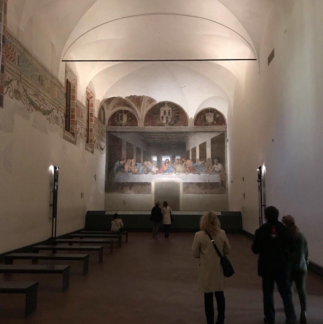 La última cena Milán Leonardo da Vinci fin de semana en Milán