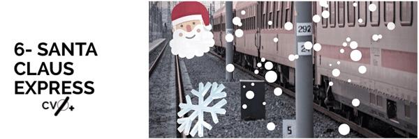 Santa Claus Express Laponia en Navidad